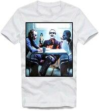 E1Syndicate t-shirt Joker Evolution Heith Ledger Jack Nicholson Jared Leto 4482 été Style tenue décontracté t-shirt