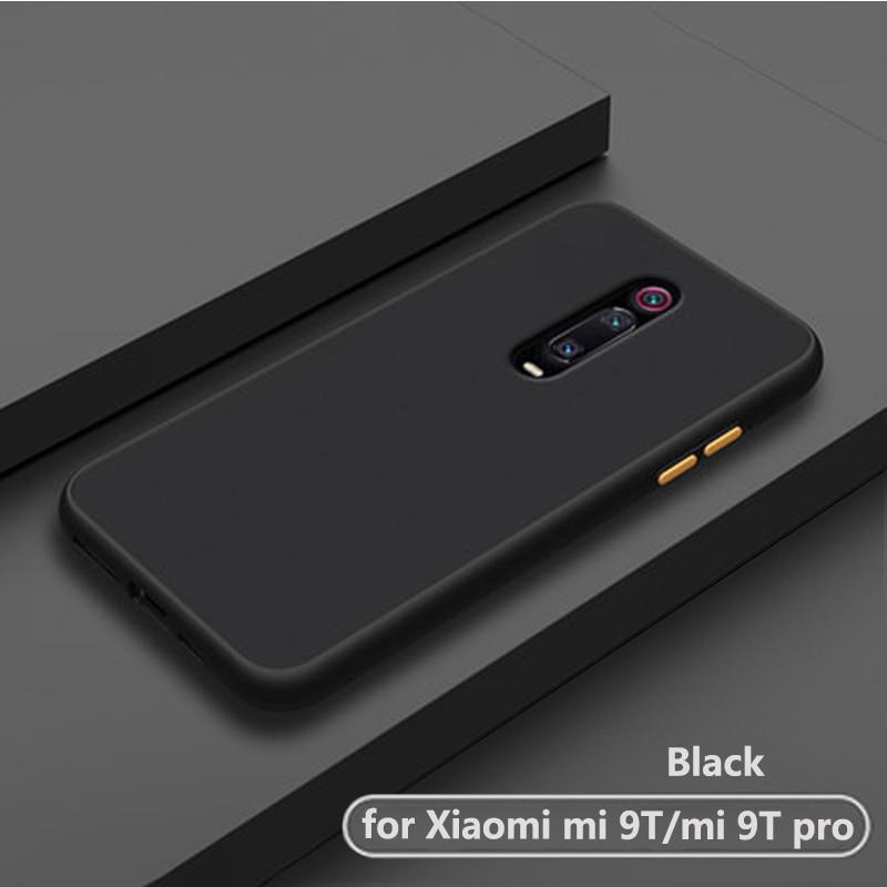 Luxus stoßfest matt transparent telefon zurück etui.coque. abdeckung. fall für xiaomi mi 9 t pro mi9t mi9 t 9tpro für xiomi silikon