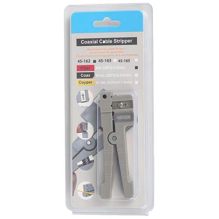 Pelador de fibra óptica Ideal 45-162 y 45-163/pelador de fibra óptica/cuchilla/cortadora