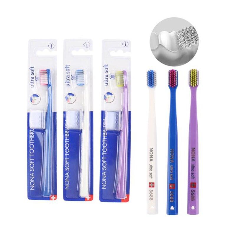 Чистые Ортодонтические зубные щетки, нетоксичные Ортодонтические зубные щетки для взрослых, набор зубных щеток, Мягкая зубная щетка