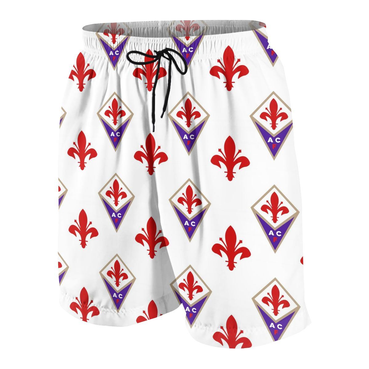 ACF Fiorentina Youngsters Shorts Joggers Quick-dry Cool Short Pants Casual Beach Sweatpants