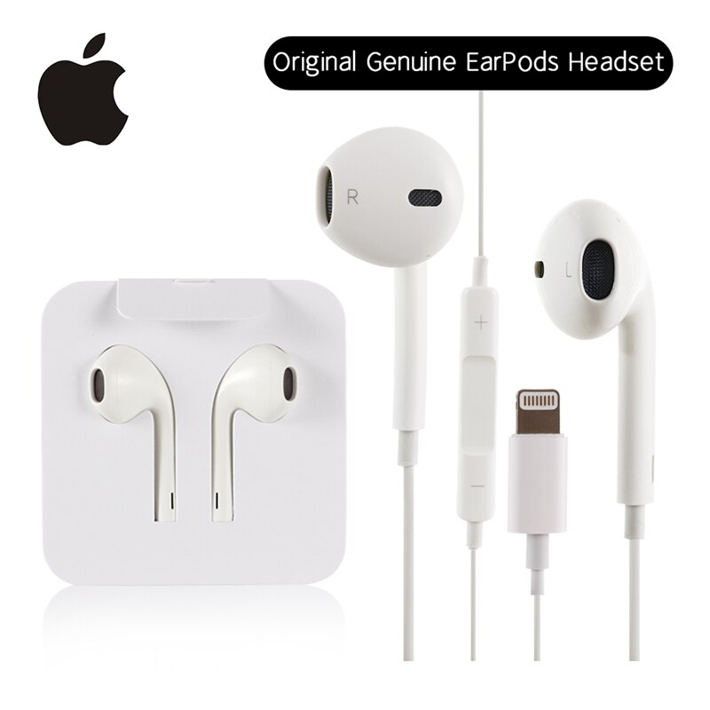 Original Apple Earpods Lightning Plug & In-Ear Headset Sport Earphones Deep Richer For iPhone 7 8 Pl