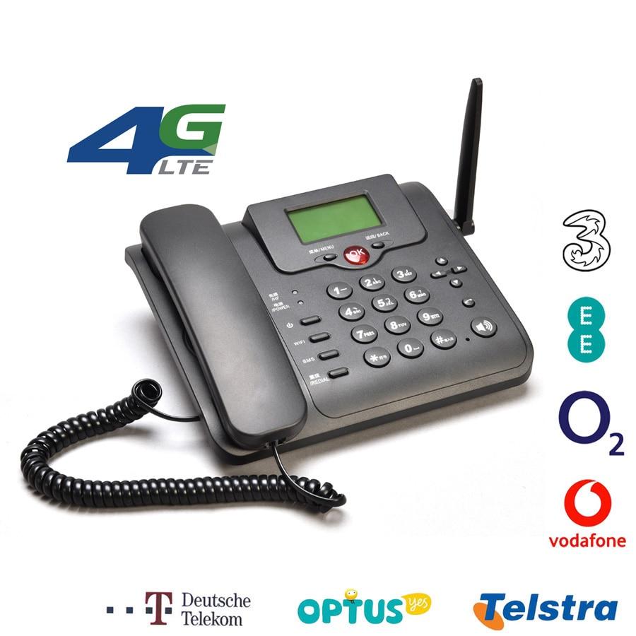 2G 3G 4G Sim Card Wifi Router GSM Telephone Volte LTE Dongle Landline Modem Wireless Hotspot Desk Telephone Fixed Phone Cordless