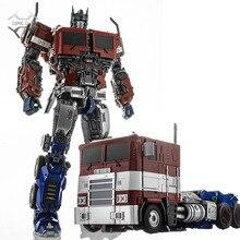 Weijiang M09 OP leader Transformation pièces en alliage métallique figurine robot jouet