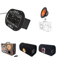 Panneau damplification Bluetooth double canal 12V 24V 220V  Audio numerique classe D  stereo  Support carte TF  AUX  cinema maison