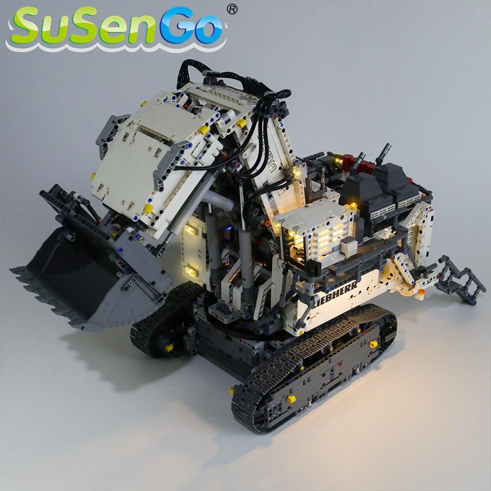 Купить с кэшбэком SuSenGo LED Light kit For 42100 Liebherr R 9800 Excavator