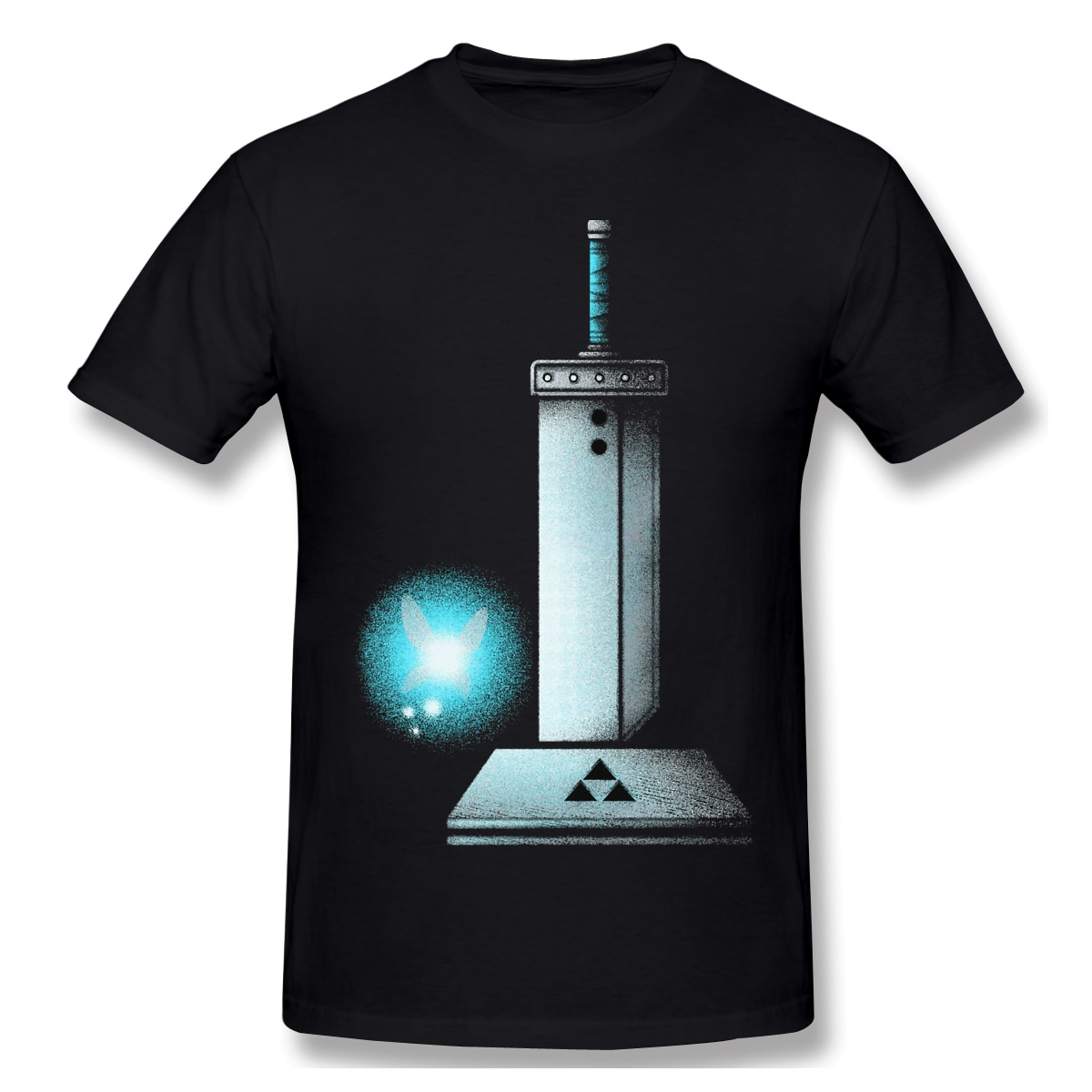 Maestro espada BUSTER T camisa blanca la leyenda de Zelda Camiseta de verano grandes camisetas