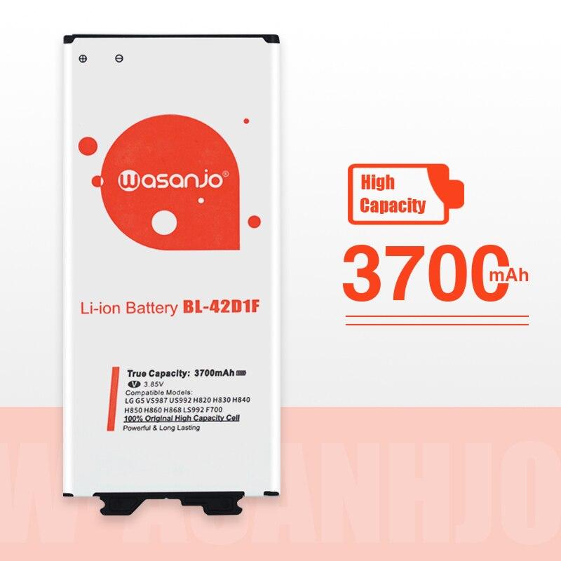 NOVA Bateria de Alta Capacidade 3700mAh BL-42D1F Para LG G5 VS987 US992 H820 H840 H850 H830 H831 H868 F700S F700K H960 H860N LS992