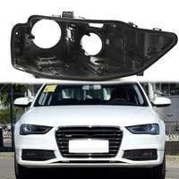 for audi a4l b8 2013 2015 shell black plastic housing base rear base headlight base lamp protection lens case