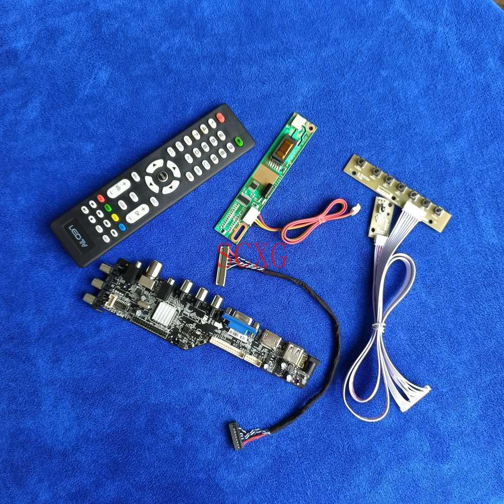 LVDS 30 دبوس DVB الرقمية HDMI متوافق USB AV VGA 1400*1050 1-CCFL عدة تحكم مجلس صالح LP150E02/LP150E05/LP150E06/LP150E07