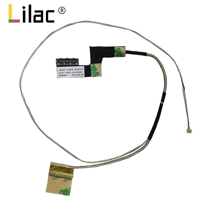 Tela de vídeo flex para acer M3-581 M3-581T M3-581TG jm50 40pin portátil lcd led lvds display fita cabo 1422-0152000