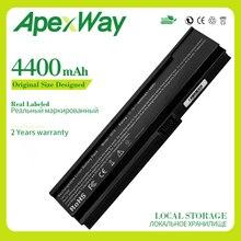 Apexway 11.1v 4400mAh Batterie pour Acer Aspire 3000 3030 3050 3200 5500 3220 5580 4UR18650F-2-QC218 BATEFL50L6C40 BATEFL50L6C48