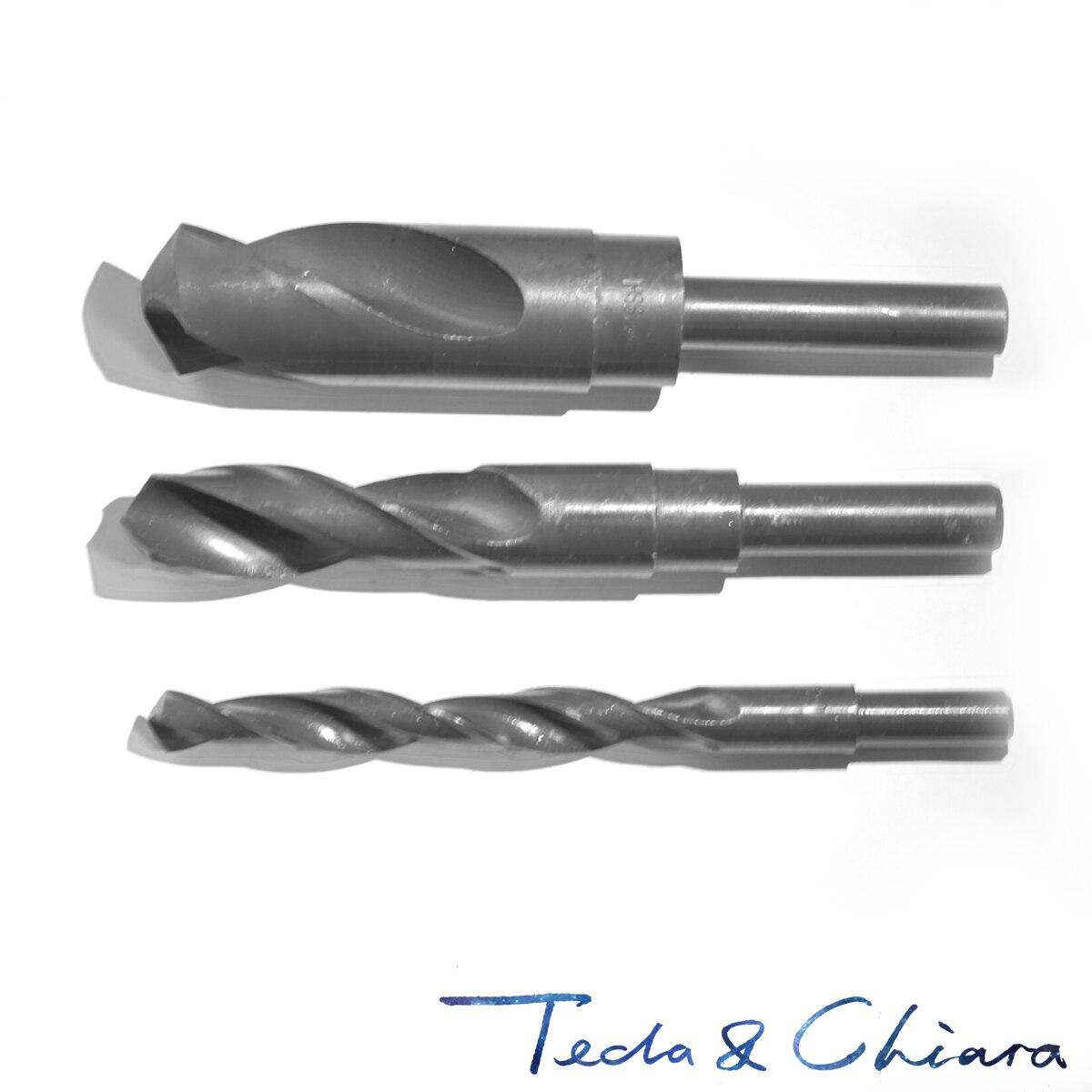 13,1mm 13,2mm 13,3mm 13,4mm 13,5mm HSS reducido manivela recta giro broca diámetro 12,7mm 1/2 pulgadas 13,1 13,2 13,3 13,4 13,5