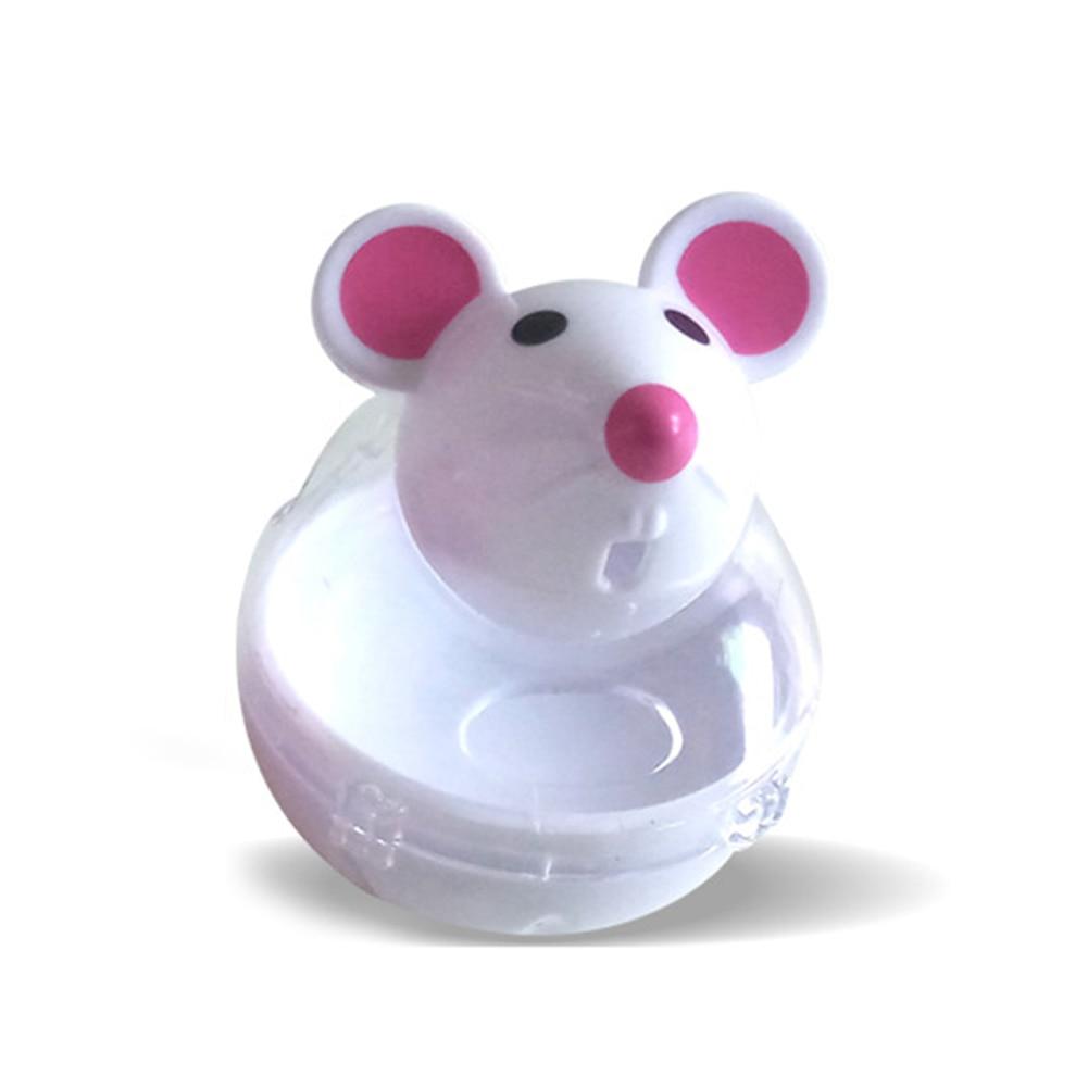Fuga de secadora gato de juguete interactivo alimentación divertida mascota suministros plástico casa comida bola entrenamiento Mouse Bowl