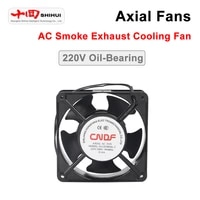 square round industrial axial fan cndf220v ta series 8092110120135150172mm ac smoke exhaust cooling ventilation fan