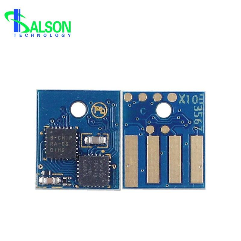 50F1000 (501) 50F1H00 (501 H) 50F1X00 (501X) chip de restablecimiento de tóner forCHIP (azul)-Lexmark MS310 MS312 MS410 MS415 MS510 MS610