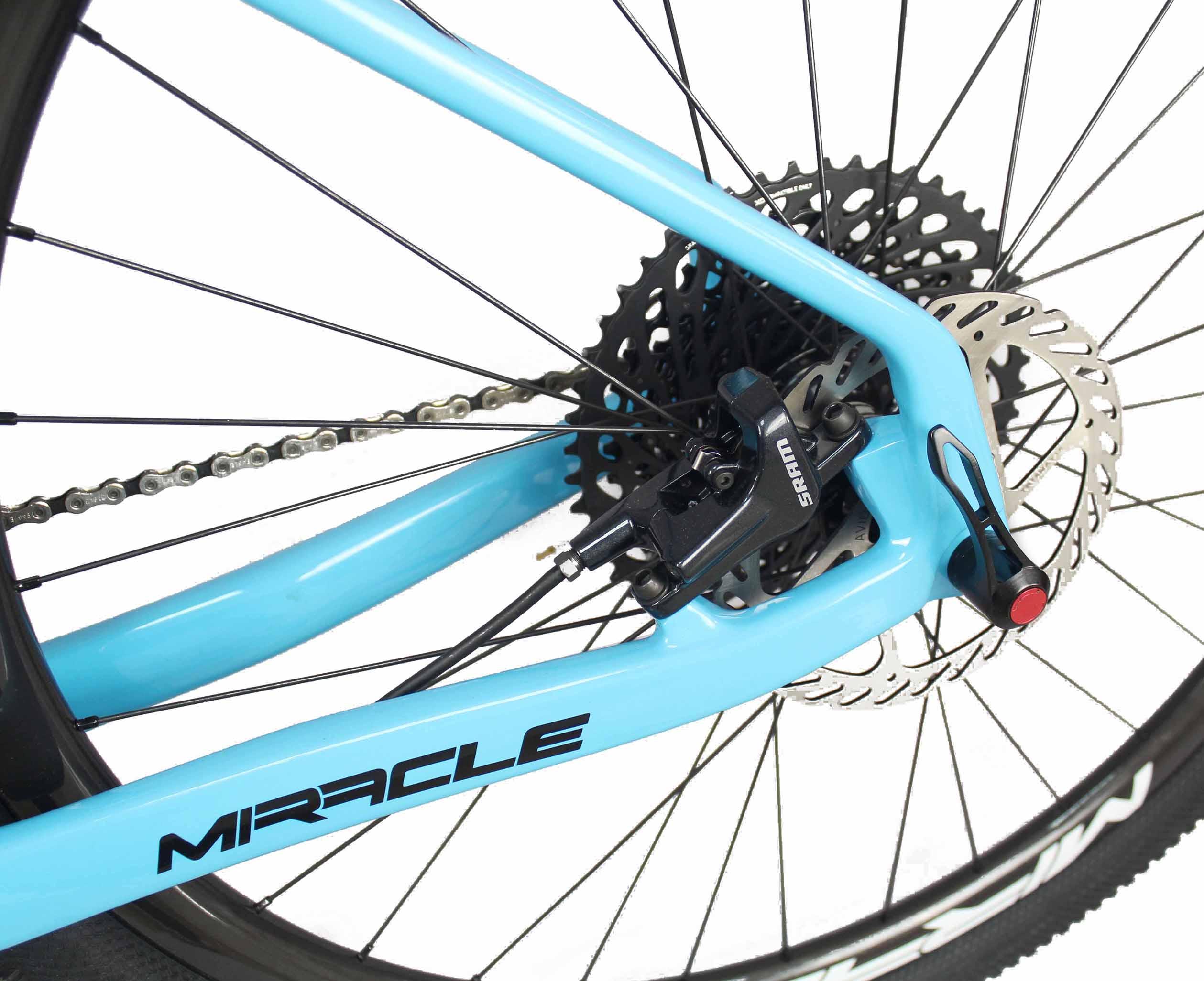 FM199 BOOSTs carbono ligero bicicleta MTB completa carbono mtb hardtail mountain cuadro de bicicleta de carbono 29er