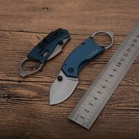 kershaw 8710 pocket outdoor camping hunting folding knife 8cr13 blade blue steel handle tactical survival fruit knives edc tools