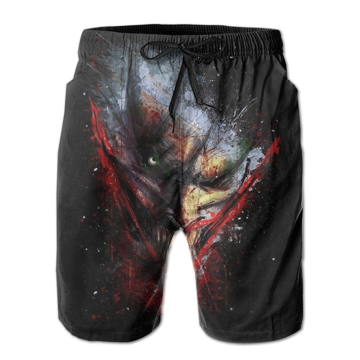 Повседневные дышащие быстросохнущие Смешные новинки R361 беговые Джокер обои Гавайские брюки
