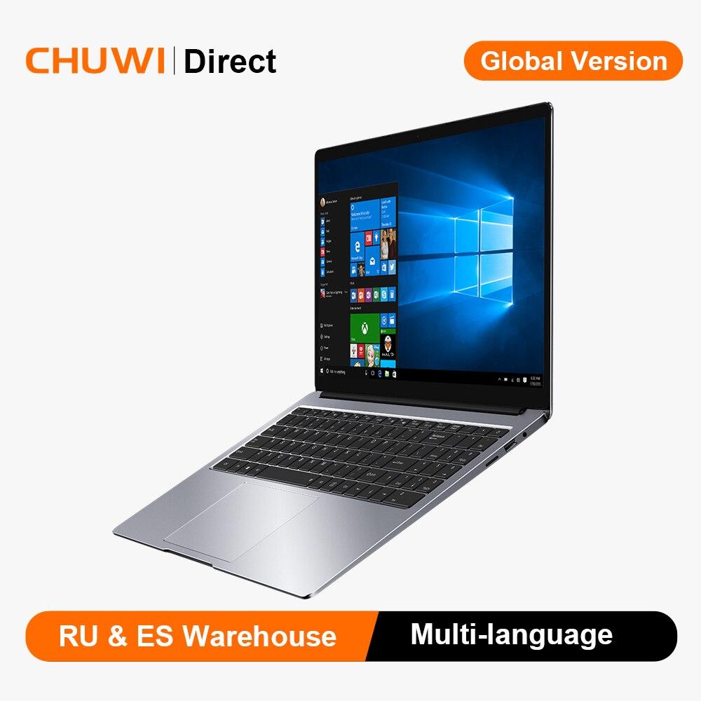 Chuwi aerook plus intel i5 notebook 15.6 polegada 4k ips tela windows10 8gb ram 256gb ssd portátil