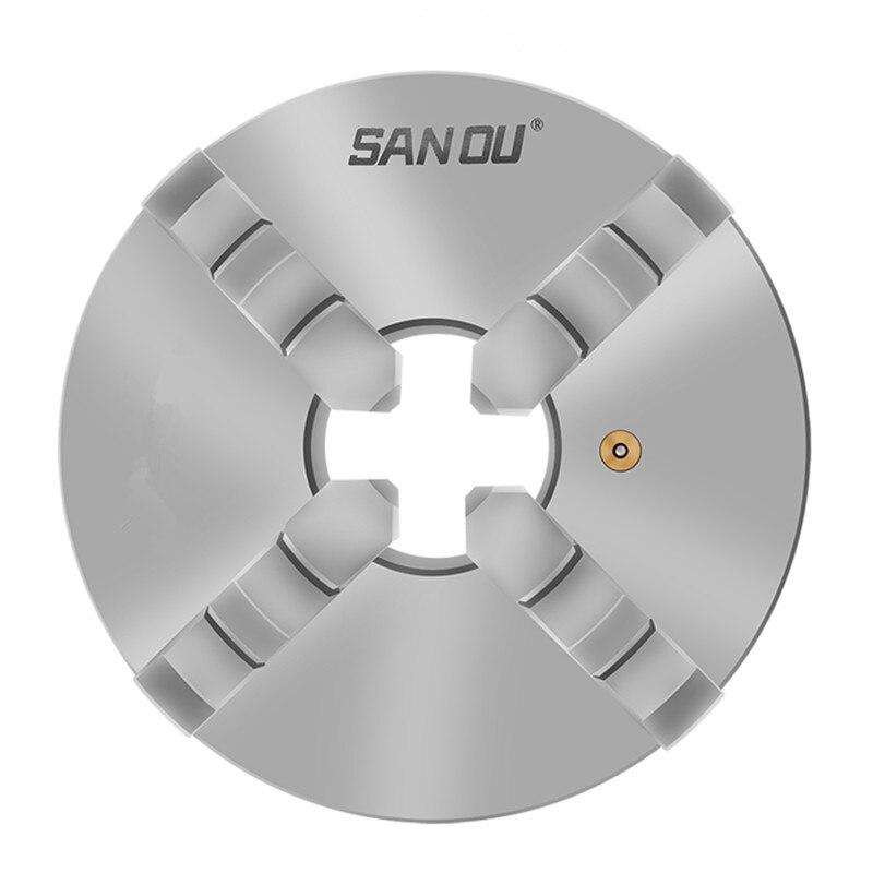 Sanou K12-80 3 дюйма 4 четыре челюсти 80 мм патрон токарного станка с самоцентрирующимся станком аксессуары для токарного станка