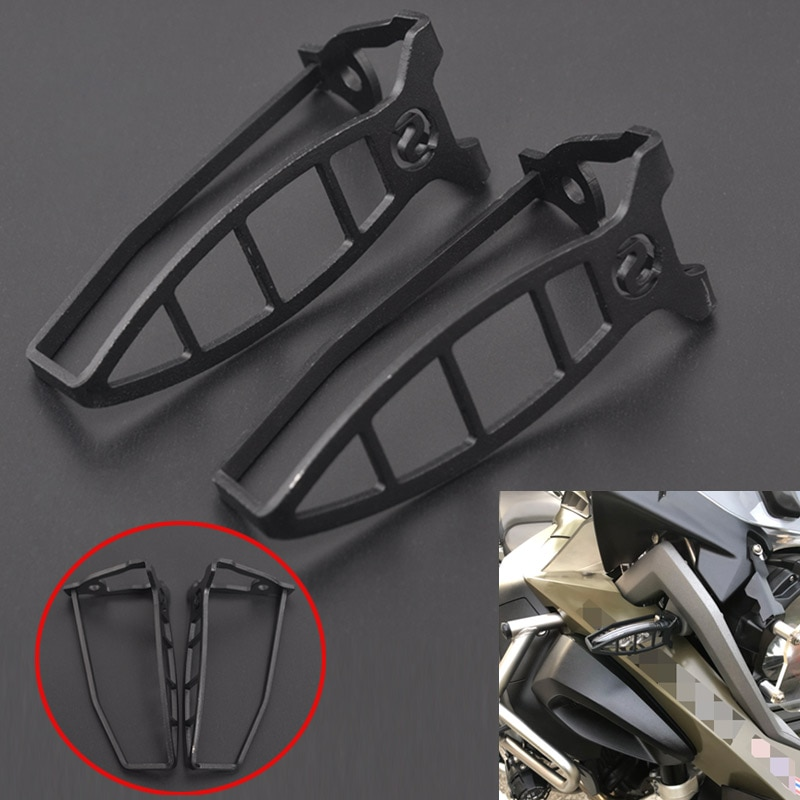 Indicador de luz intermitente para motocicleta, cubierta protectora de parrilla para luz de BMW R 1200 GS LC Adv R 1250 GS Adv F850 GS Adv F750 GS HP4