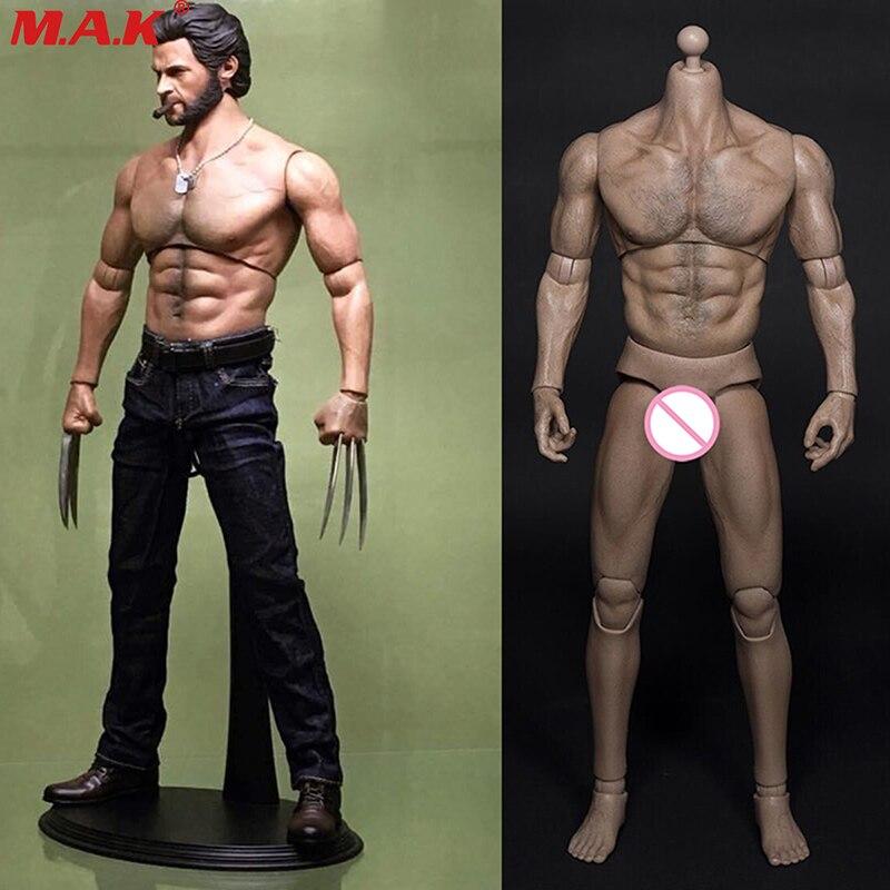 Масштаб 1/6, мужское тело, мышцы, широкие плечи, 31 см, Мужская фигурка, тело AT012, экшн-игрушка, коллекция, поклонники, подарок