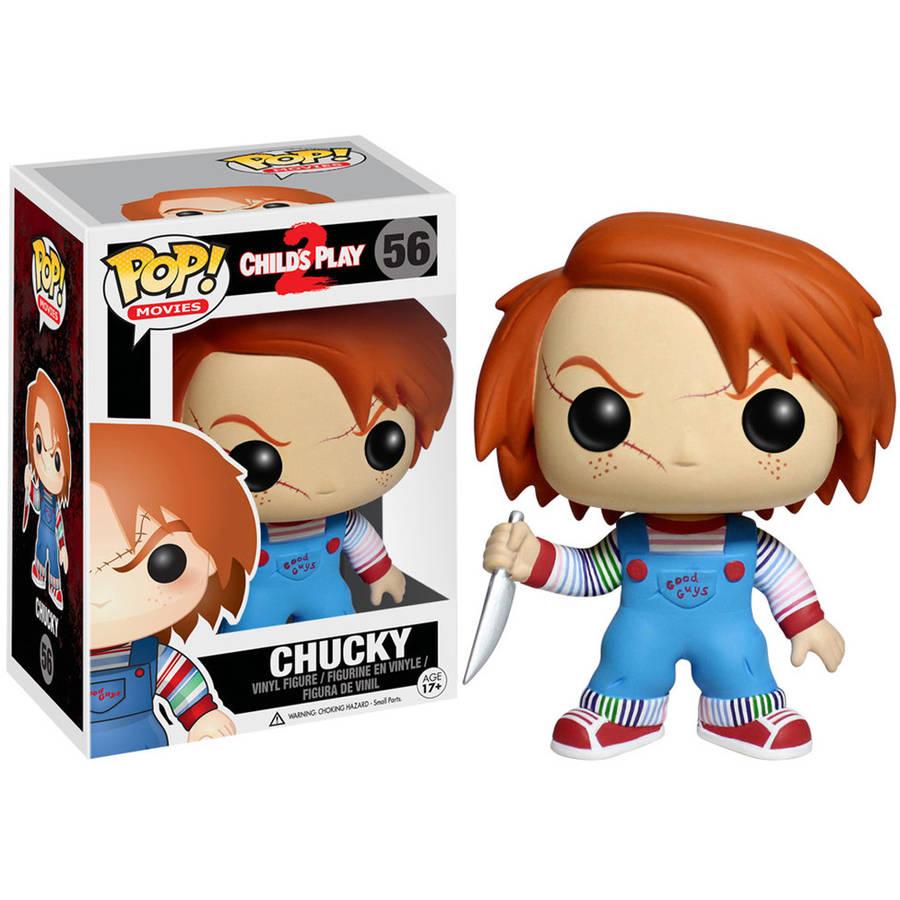POP películas de Horror defectuosas Juego infantil 2 Chucky 56 # MODELO DE figura de acción de vinilo, juguetes coleccionables para seguidores, decoración de Navidad