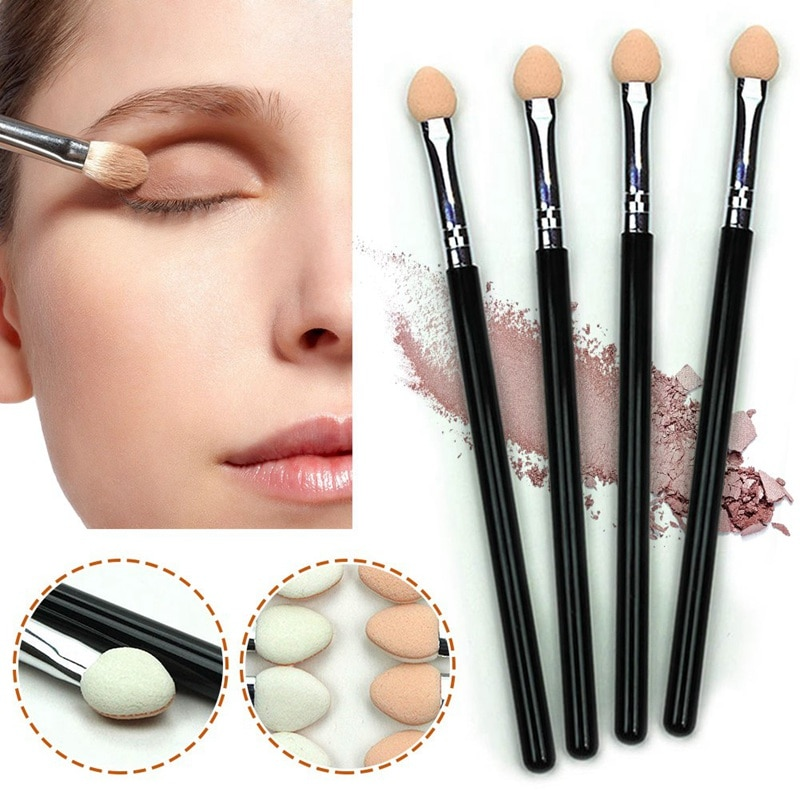 1 Pc Eyeshadow Sponge Brush Stick Portable Eye Shadow Eyeliner Eyebrow Lip Brush Applicator Eyes Mak