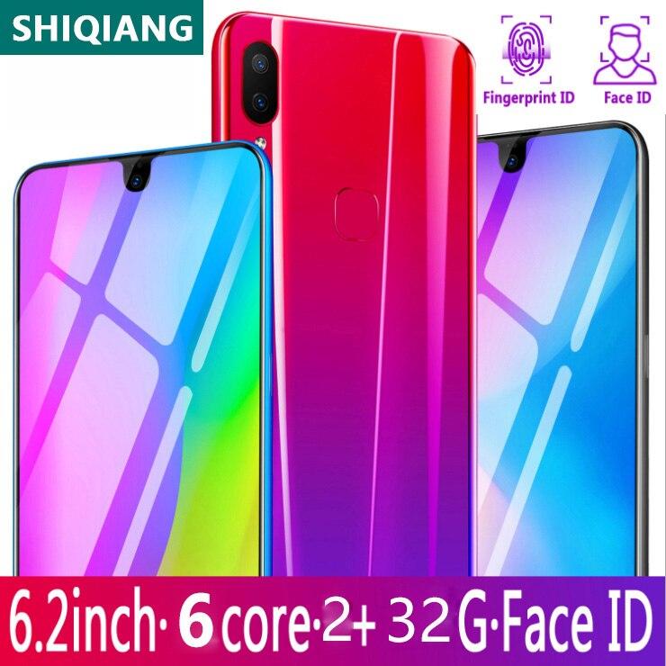 SOYES X23 teléfonos móviles Android 6,2 pulgadas 2GB de RAM 32GB ROM teléfonos inteligentes Android 9,1 versión Global 3800mAh teléfonos celulares