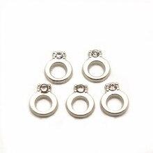 Hurtownie 12 sztuk/partia crystal Charms pierścień pływające Charms dla pływających pamięci charms medaliony DIY biżuteria