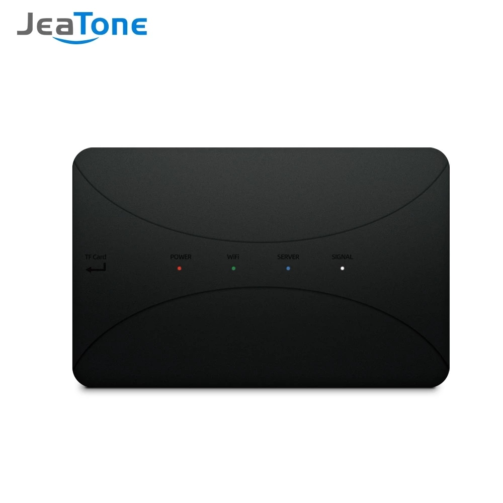 wireless wifi ip box for video doorphone doorbell building intercom system control 3g 4g android iphone ipad app on smart phone JeaTone WiFi IP BOX For Analog Video Doorphone Intercom System Remote Unlocking Control Android iPhone Tuya APP on Smart Phone