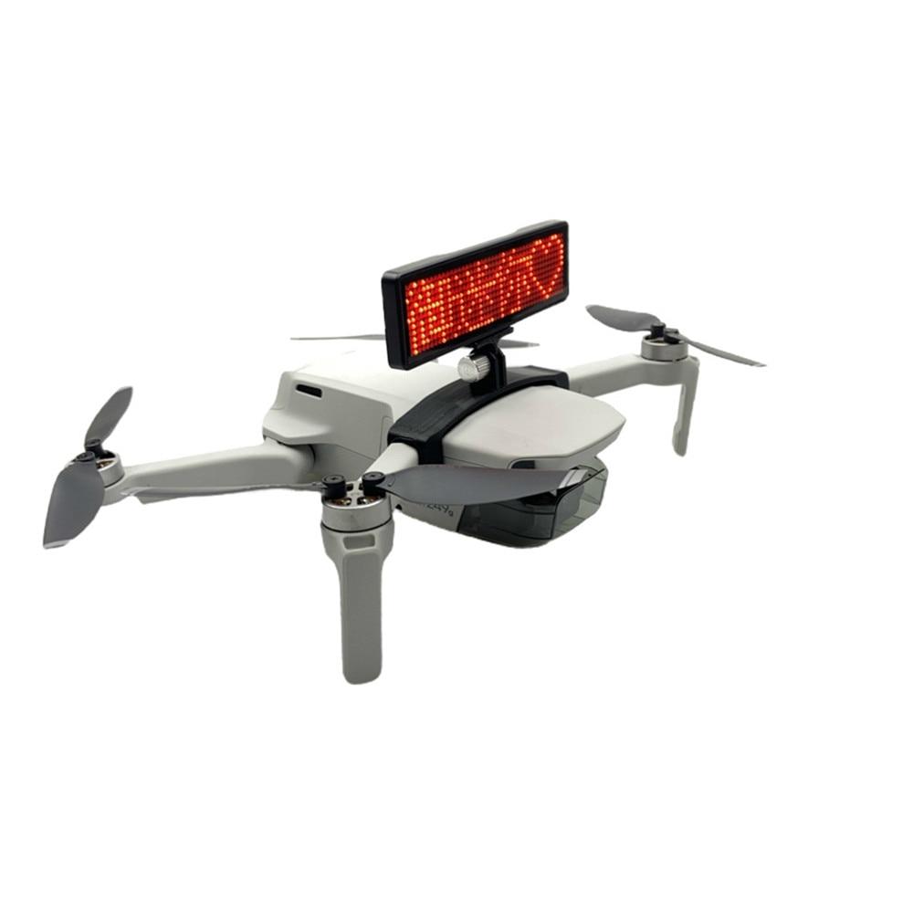 Легкий светодиодный держатель экрана для DJI Mavic Mini Drone DIY дисплей доска кронштейн аксессуары рекламные огни предложение