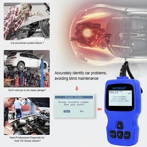 Image 4 - Автомобильный сканер Autophix V007 OBD2, автомобильный диагностический инструмент для Golf 4 // 5/6/7 T5 Polo Passat b5 b6 ABS EPB, инструмент для сброса масла