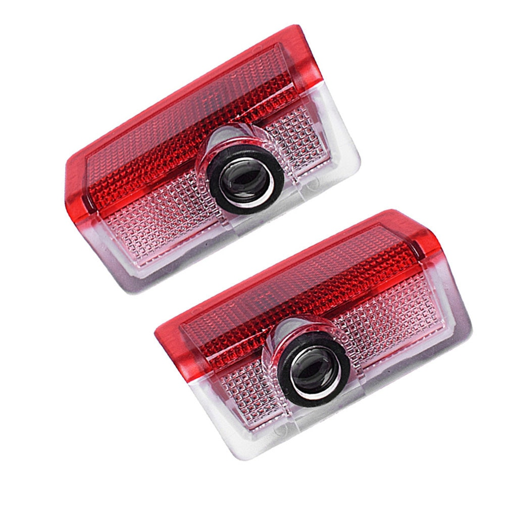 2 piezas de luces de bienvenida para puerta de coche con logotipo LED lámpara de Proyector láser para Mercedes Benz W213 Clase E W212 M W166 ML de alta calidad