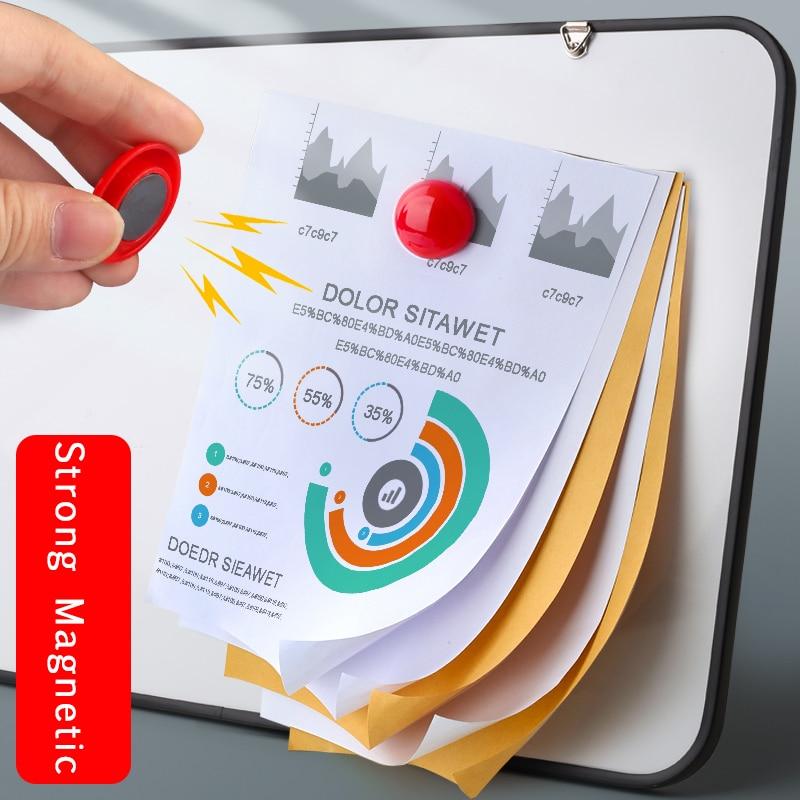 12 шт./лот красочный пластиковый магнит на холодильник календарь доски стикер для доски классе Офис Гаджет для домашнего декора