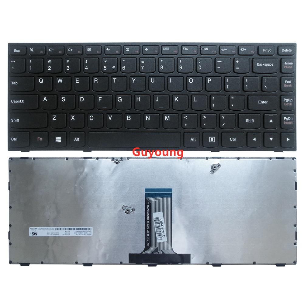 Teclado del ordenador portátil para LENOVO g40-70 B40-70 b40-30 Z40-70 g40-70m n40-70 N40-30 V1000 V3000 V1070 Flex2-14a nos inglés