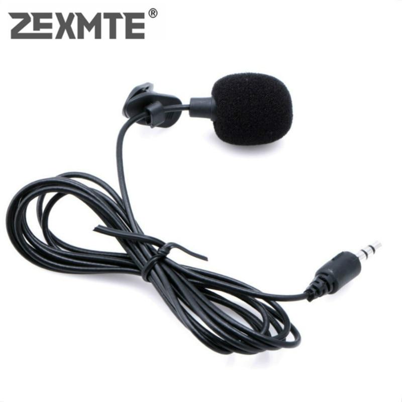 Mini micrófono portátil Universal con Clip de solapa en 3,5mm micrófono lavalier para enseñanza de voz en estudio altavoz Lound