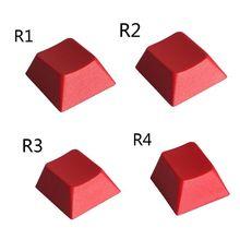 DIY PBT klawisze klawiatury R1 R2 R3 R4 Profile klawiszy na przełącznik Cherry Mx mechaniczne klawisze klawiatury 1PC