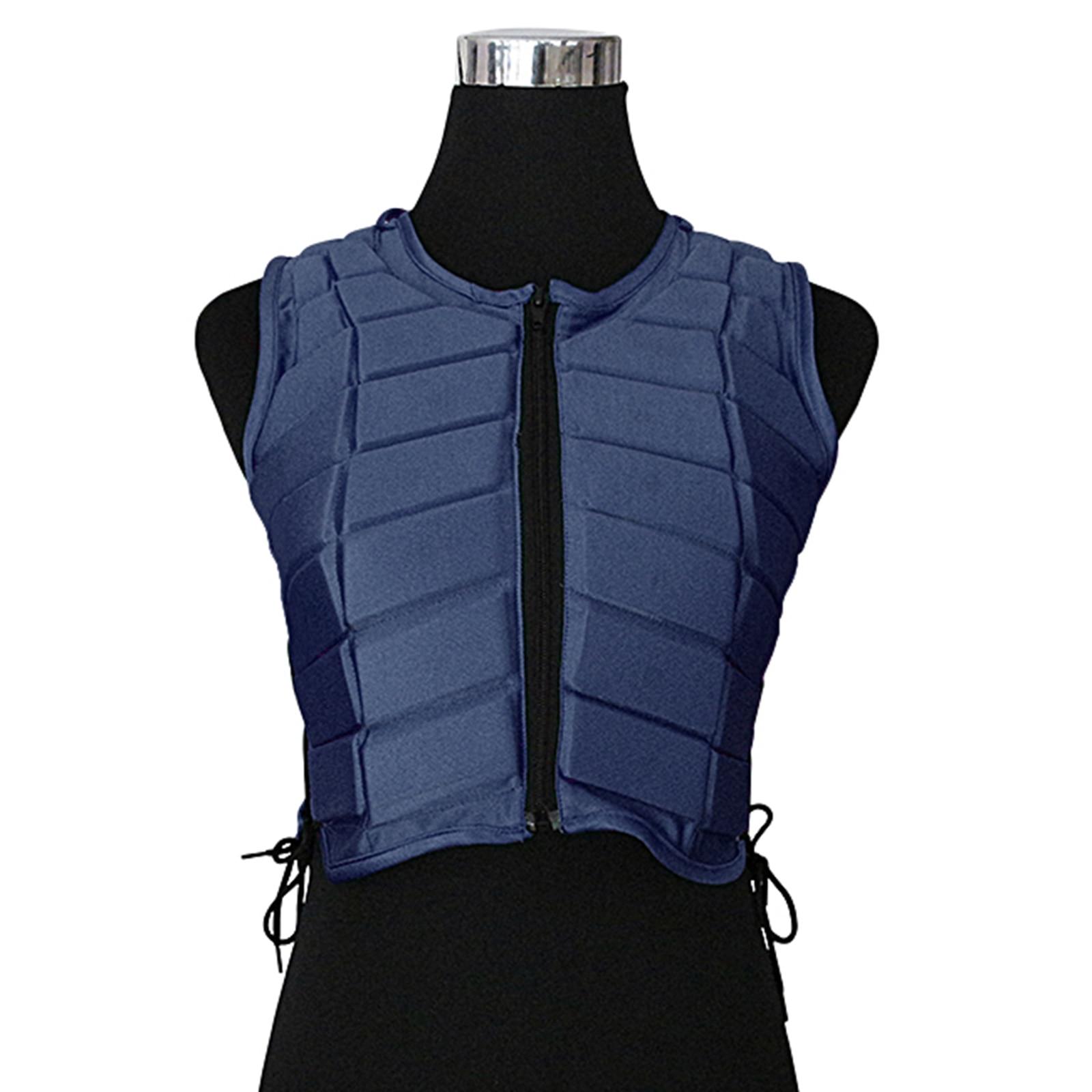 Жилет для конного спорта EVA, защита для тела для верховой езды, Противоударная прокладка