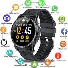 LIGE nouveau téléphone montre hommes répondre au téléphone Smartwatch homme fréquence cardiaque pression artérielle multifonction pour Android IOS montre intelligente + boîte