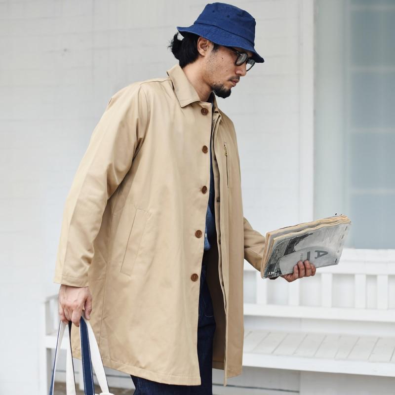Saucezhan خندق معطف الرجال 2020 جديد الرجال خندق معطف الرجال التلبيب طويل مصدات الرياح مقاوم للماء العمل سترة دراجة نارية سترة