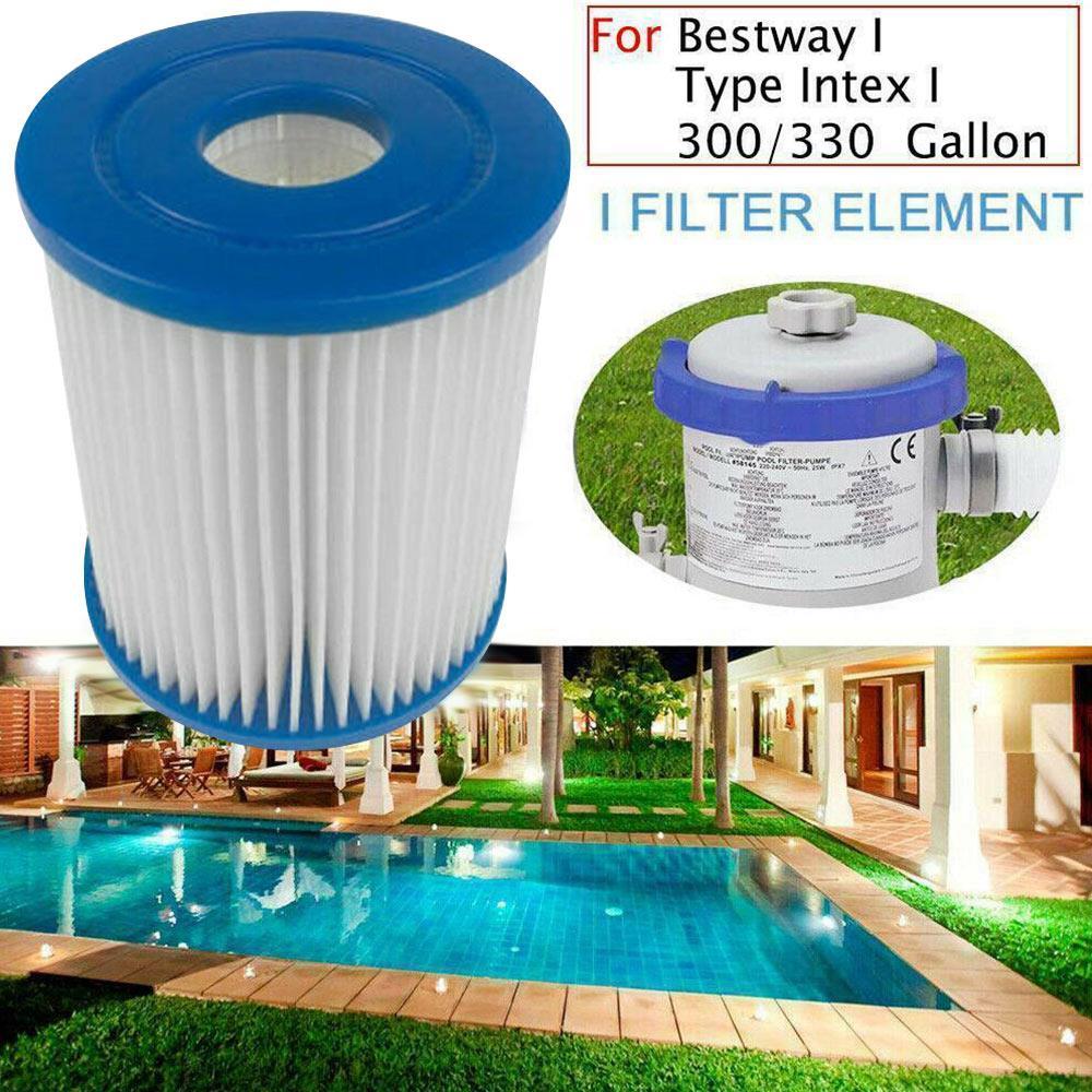 Substituição de fibra poliéster piscina filtro para tipo i limpo piscinas spas ferramenta limpeza criativa decoração casa antibacteriana