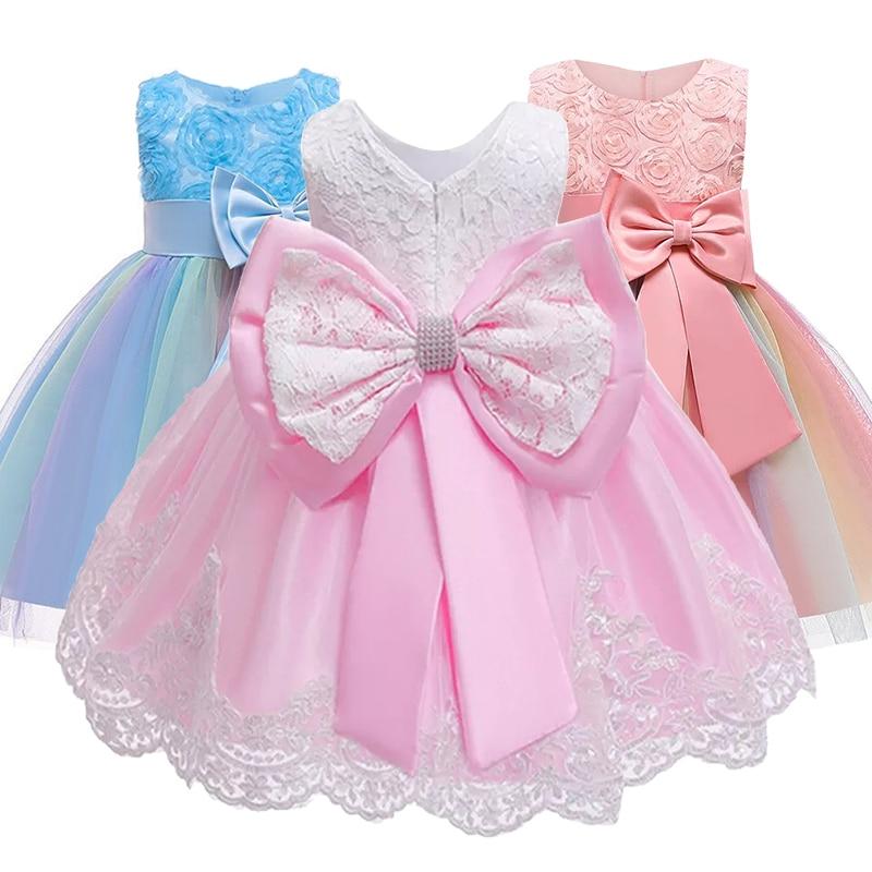 Vestido de fiesta de princesa de cumpleaños para niños, vestido elegante para niñas, niñas, flores, niñas, dama de honor, ropa para niñas