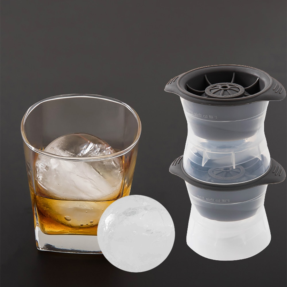 Máquina de Hockey sobre hielo Whiskey bandeja de hielo bandeja con molde para cubitos de hielo molde de silicona molde de bolas de hielo accesorios molde para cubitos de hielo y Chocolate 2020