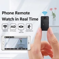 MINI Camera 4K Cloud IP Video Camera WiFi Wireless Smart Auto Tracking Baby Monitor Night Vision Device Smart Home Security