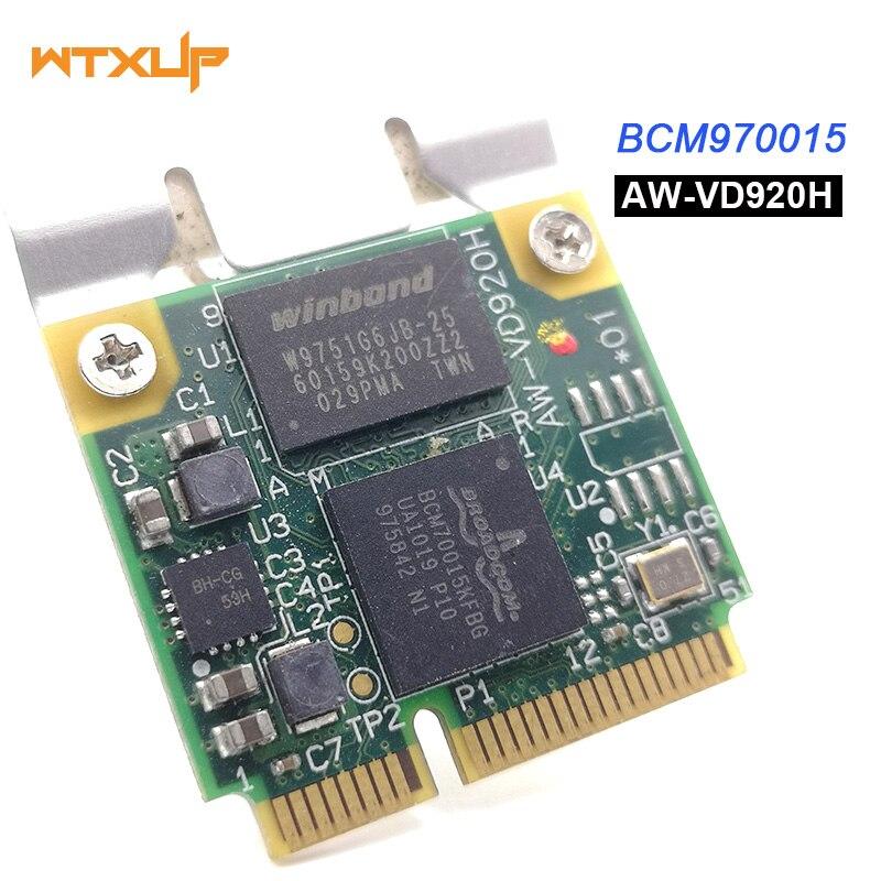 1080p para decodificador de cristal HD Broadcom BCM70015 BCM970015 AW-VD920H decodificador de Hardware de cristal HD Mini adaptador PCIE para 1th TV/Note