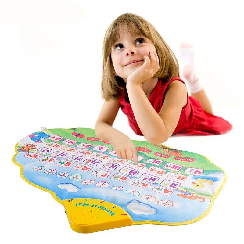 سجادة لعب موسيقية للأطفال, ألعاب تعليمية تعليم اللغة الروسية