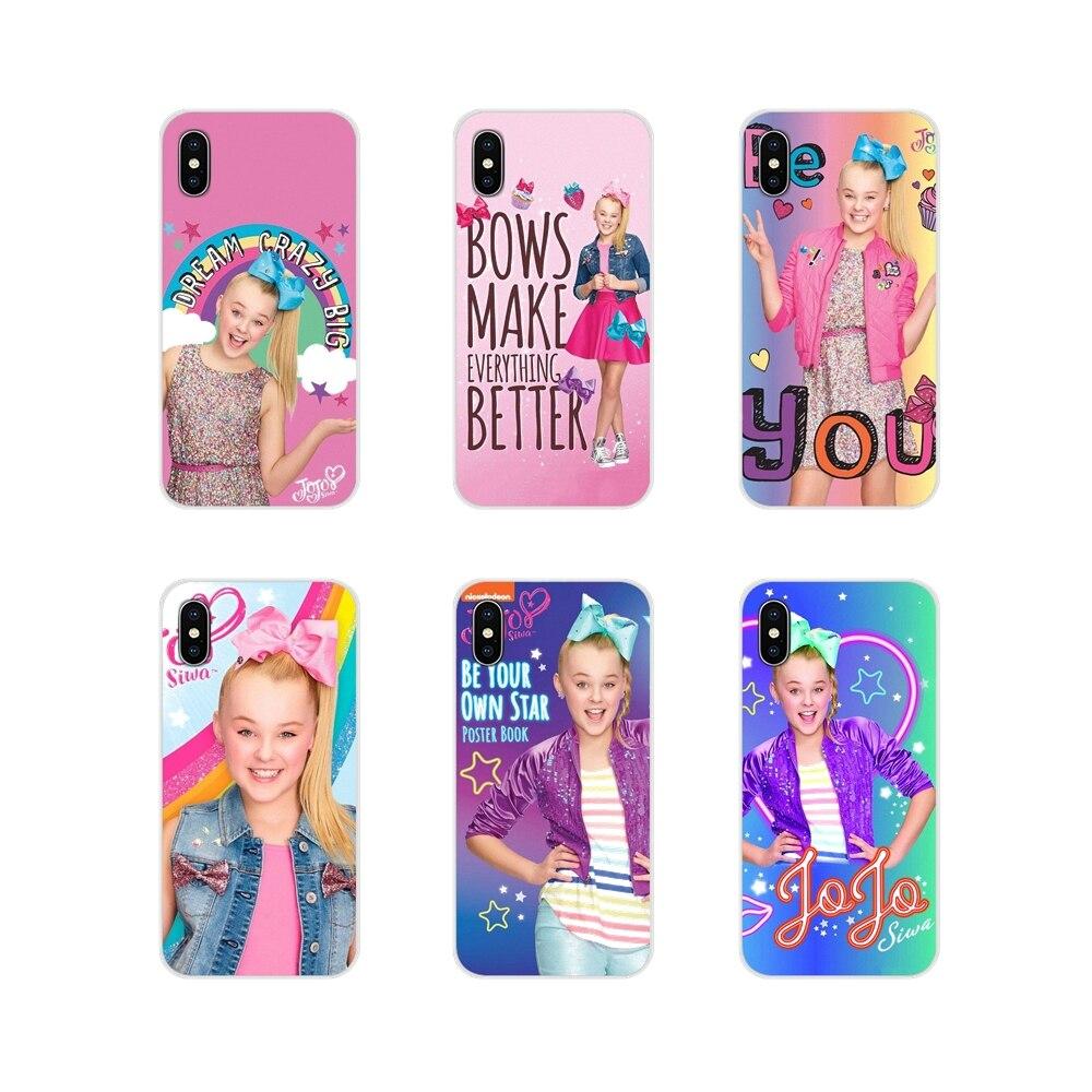Para Samsung Galaxy J1 J2 J3 J4 J5 J6 J7 J8 Plus 2018 primer 2015 de 2016 de 2017 accesorios de la cáscara del teléfono cubre Jojo Siwa