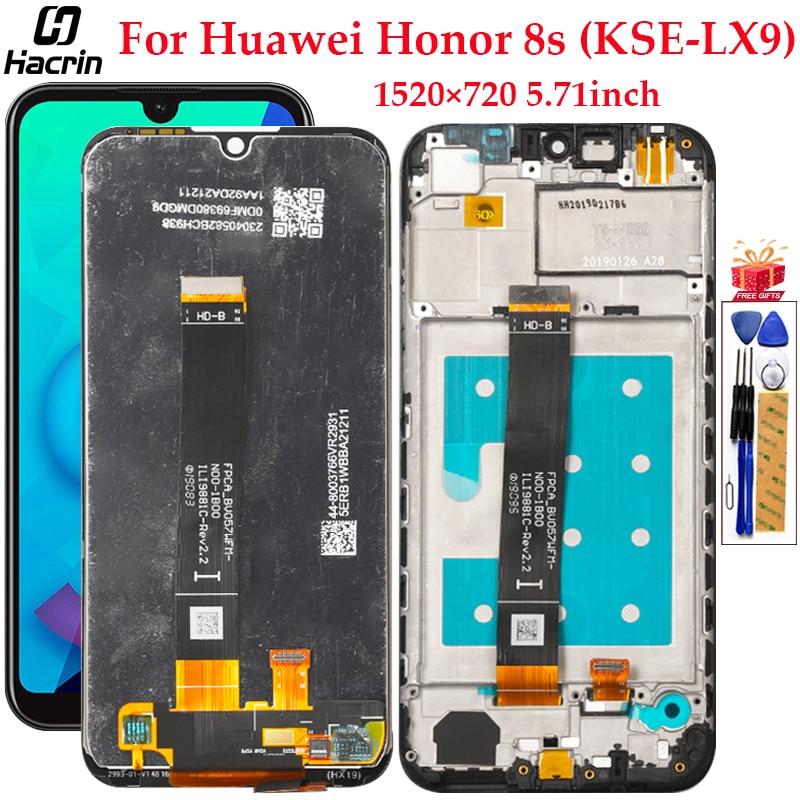 Display Für Huawei Ehre 8 S LCD Display Touchscreen Mit Rahmen Digitizer Montage Ersatz Display Für Honor 8 S 8 S Bildschirm